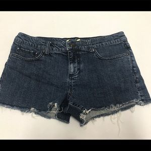 Juicy couture women's jean shorts size 28